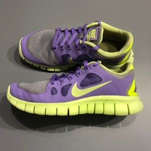 Nike Youth Free 5.0 GS Running Shoes Size 4Y